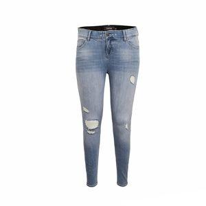 Torrid Primium Bombshell Skinny Jeans Stretch Light Wash Size 18R